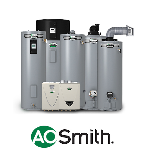 AO Smith is a Milwaukee based manufacturer of Gas, Electric and Tankless Water Heaters