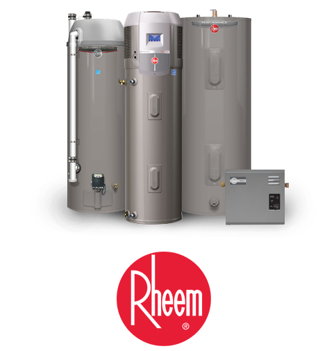 Clear Flo Plumbing Installs Tankless, Gas and Electric Rheem Water Heaters in Wisconsin Homes